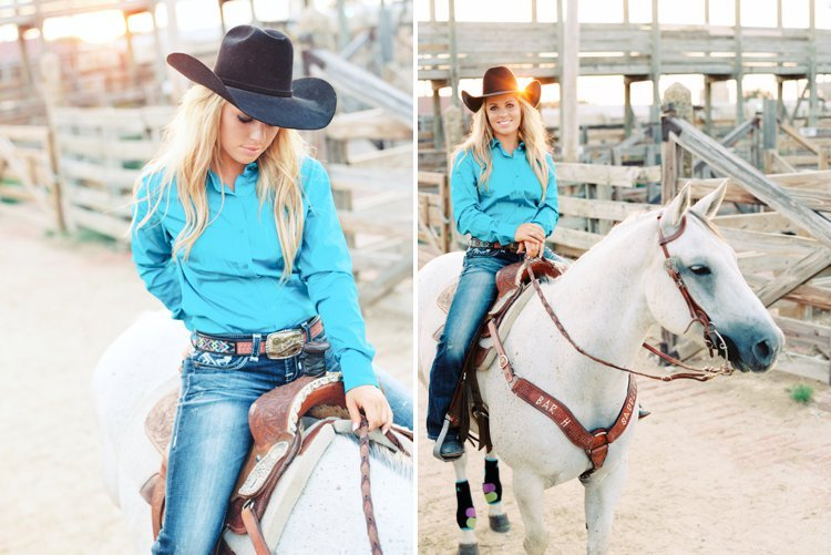 Jessica Holmberg Professional Barrel Racer Reality Tv Star A Amp E Rodeo Girls